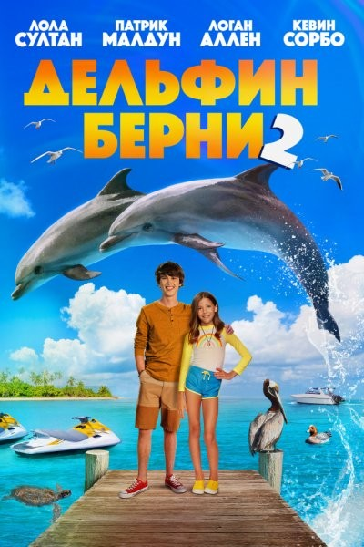 Дельфин Берни 2 / Bernie the Dolphin 2 (2019/WEB-DL/WEB-DLRip)