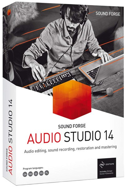 MAGIX SOUND FORGE Audio Studio 14.0.56 Portable (2020/MULTi/RUS)