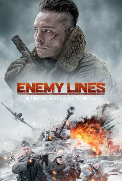 В тылу врага / Enemy Lines (2020/WEB-DL/WEB-DLRip)